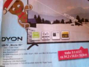 "Dyon Led-TV ""Movie 40"""