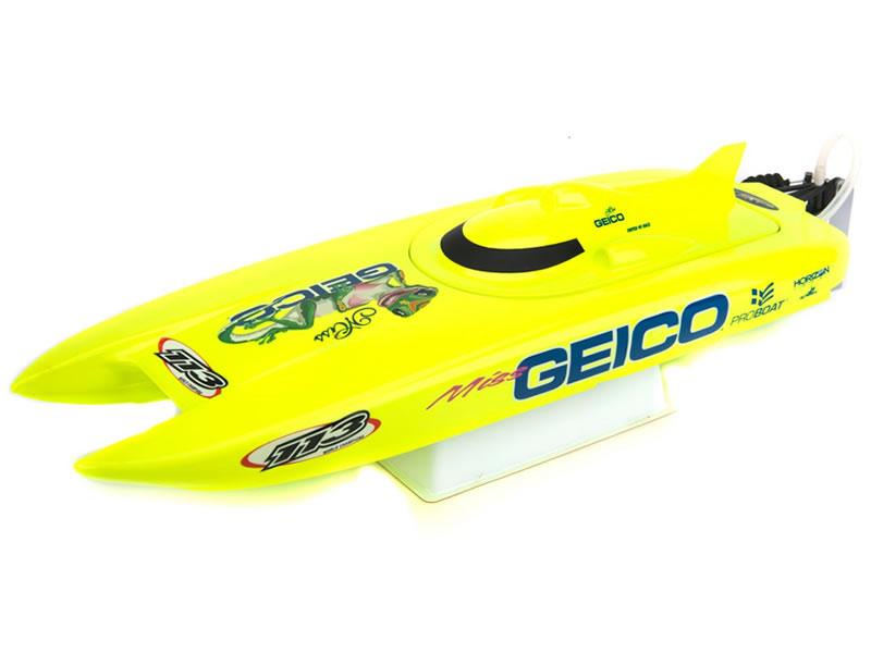 Modellboot HORIZON ProBoat Miss GEICO 17 Katamaran 0,43m RTR @bf2016