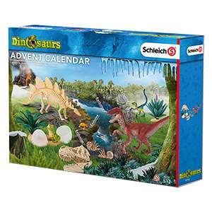 Schleich Adventskalender Dinosaurier bei [real] für 14,99€ statt idealo 19,77€