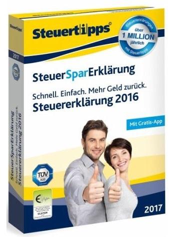 Steuersparerklärung 2017 bei Buecher.de für 22,22€