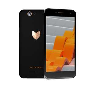 Wileyfox Spark Plus LTE + Dual-SIM (5'' HD IPS, MT6735 Quadcore, 2GB RAM, 16GB eMMC, 13MP + 8MP Kamera, kein Hybrid-Slot, 2200mAh wechselbar, Cyanogen OS 13) für 104,09€ [Amazon.co.uk]