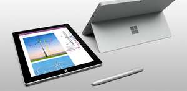 Surface 3 - 64GB 2GB RAM/ Wi-Fi + 4G LTE für 499€, idealo  604,95€ @ Microsoftstore