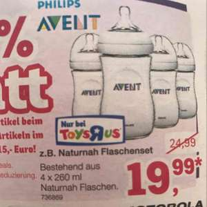 [toysrus] Avent Philips Naturnah Flaschenset 4x 260 ml