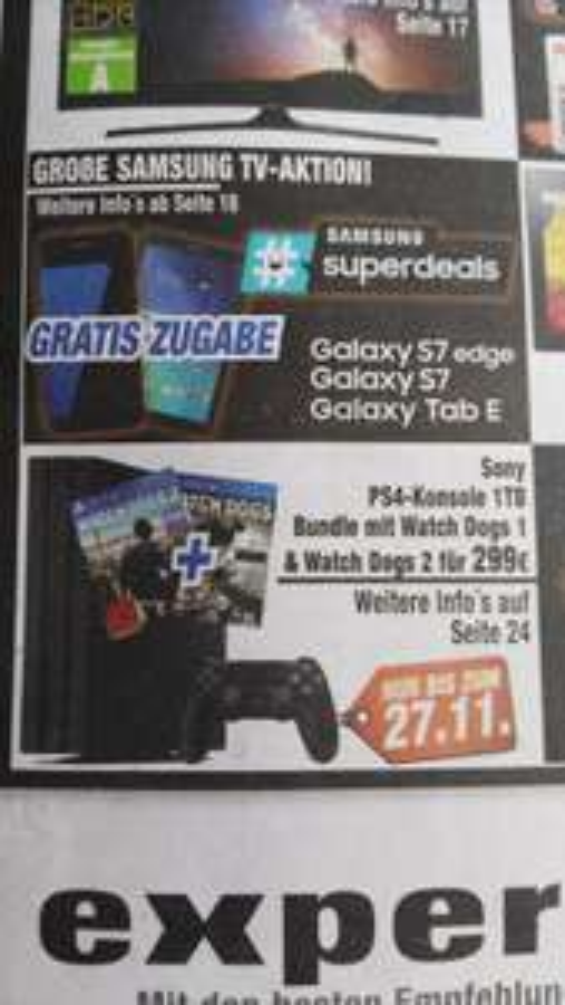 Playstation 4 slim 1TB + watchdogs 1&2