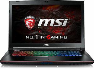 MSI GE72VR-6RF161 - Intel Core i7-6700HQ 2.60GHz (GTX1060/Win10) - WOW
