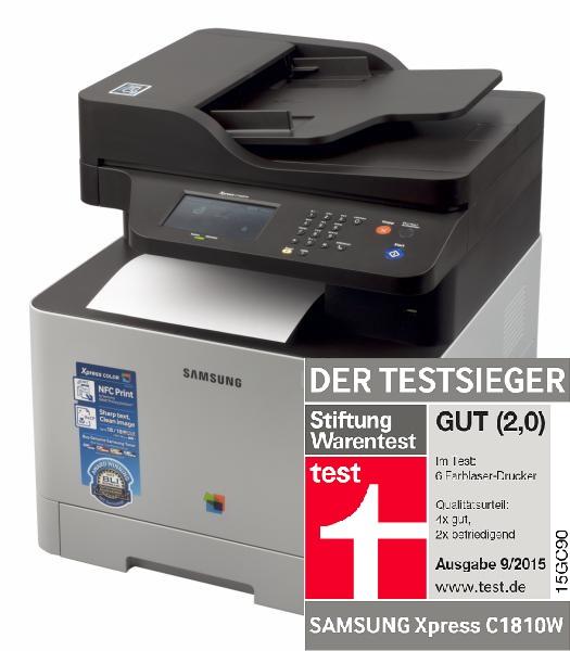 [amazon.co.uk] Farblaserdrucker C1860FW 237€ [VGP: 320€]