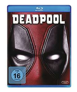 Deadpool BluRay endlich unter 10€! [Amazon Prime] und Saturn