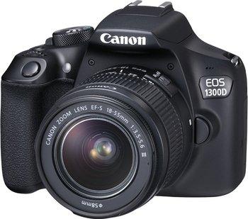 Canon EOS 1300D digitale Spiegelreflexkamera Kit 18-55 mm III für effektiv 274,- Euro dank Cashback [Media Markt]