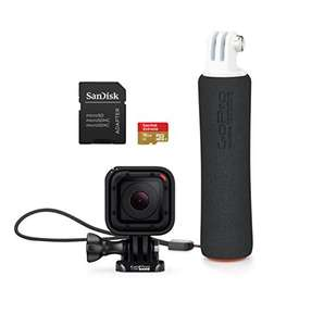 GoPro HERO Session TM Bonus Bundle ( GoPro Stative The Handler u. Sandisk Extreme 16 Gb U3 Micro SD) inkl. Vsk für 178 € > [amazon.uk]