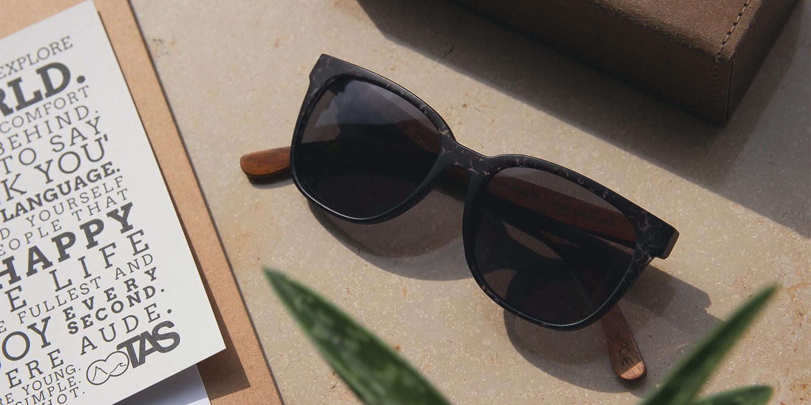 Holzsonnenbrillen von Take A Shot - 20% auf alle Brillen - ab 39€ - letzter Tag!!