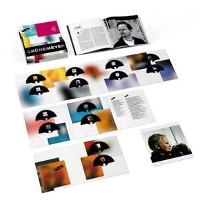 Herbert Grönemeyer Alles (Limited-Edition-Box-Set) 23 CDs + 68 seitiges Buch + Kunstdruck
