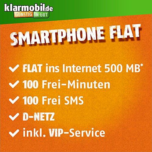 Amazon Cyber Monday Tarif #2: Klarmobil Vodafone 100 Minuten & SMS & 500 MB UMTS für 2,95 im Monat