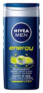 [Amazon Sparabo + Coupon] 5 x Doppelpack 250 ml Nivea Men Energy Pflegedusche für 9,72€