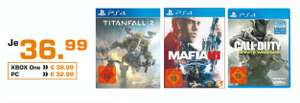 (Lokal) Call of Duty: Infinite Warfare & Titanfall 2 (PS4/XBOX ONE) für 36,99€ @ Saturn Aachen