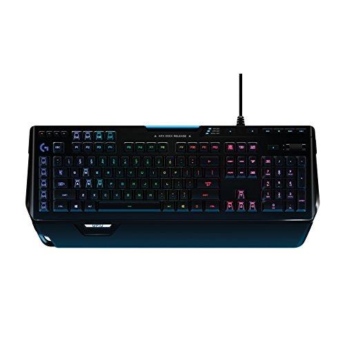 [amazon.de] Logitech G910 Orion Spectrum Mechanische RGB-Gaming-Tastatur (QWERTZ, deutsches Layout) schwarz für 104,99€ statt 165€