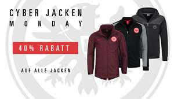 40% auf alle Jacken bei Eintracht Frankfurt