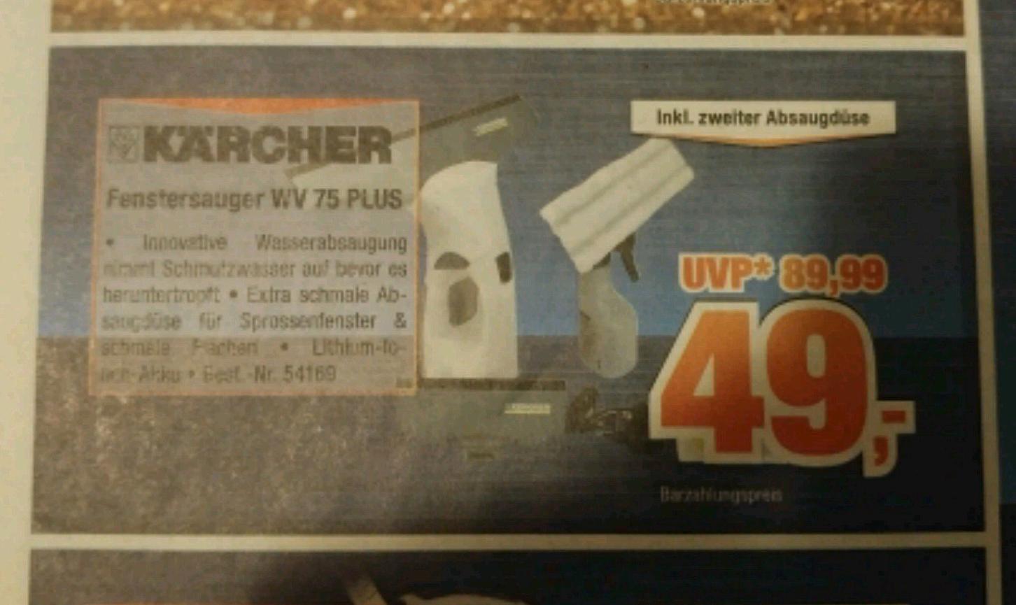 Kärcher WV 75 plus @Expert Bening