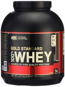 AMAZON-TAGESDEAL! Optimum Nutrition Whey Gold Standard Protein 2,3KG!