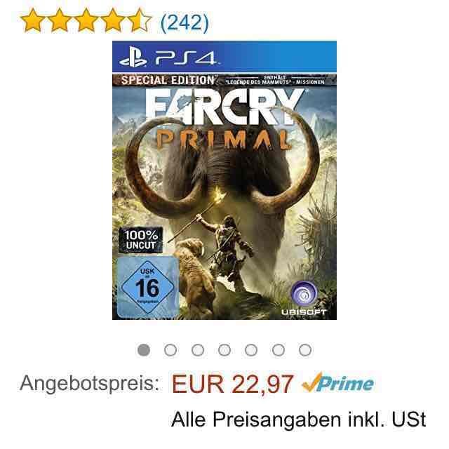 [Amazon] Far Cry Primal PS4