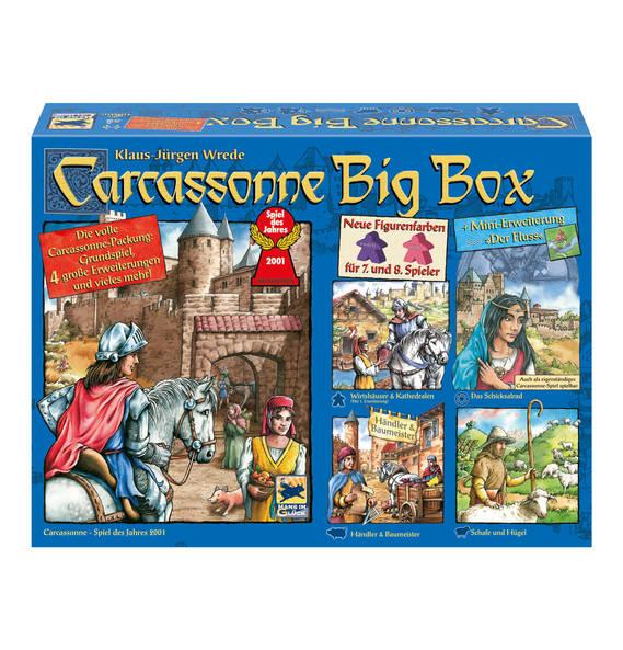 20% auf Gesellschaftsspiele bei Galeria - z.B. Andor + Erweiterung oder Caracassone Big Box für 32€