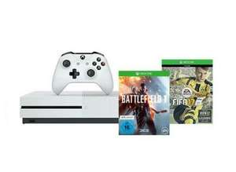 Amazon.de: Xbox One S 500GB Fifa17 Battlefield 1