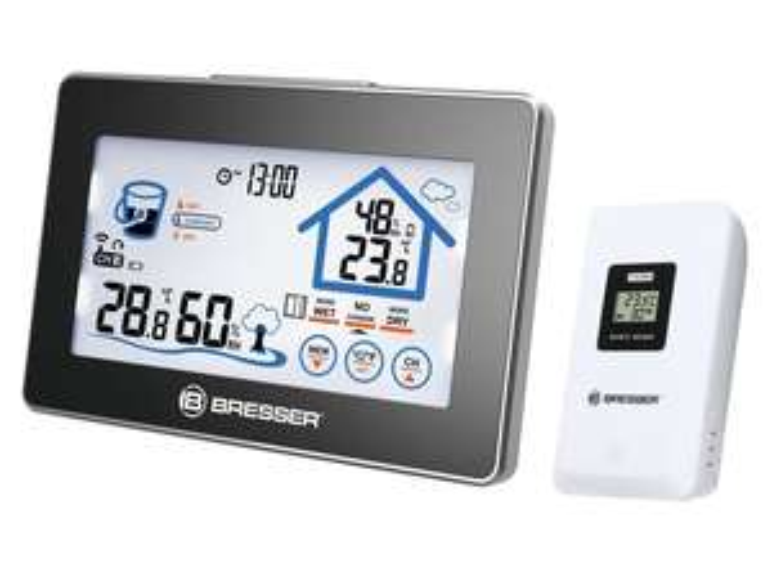 [Lidl; online jetzt bestellbar und offline ab 5.12.] Funk Hygrometer / Thermometer / Uhr mit Touchscreen von BRESSER