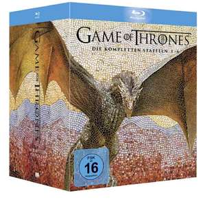 Game of Thrones 1 - 6 bluray Amazon Prime 119,97