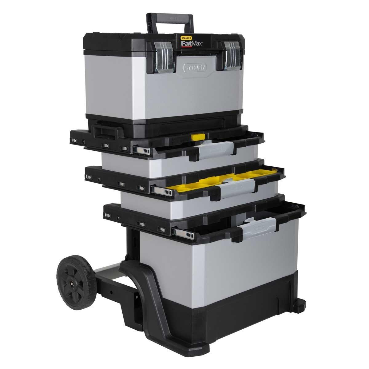 Blitzangebot: Stanley Fatmax 1-95-622 Rollende Werkstatt Metall-Kunststoff mit Rädern @99,99 Euro inkl. Versand