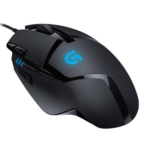 "Logitech™ - Gaming Maus ""G402 Hyperion Fury"" (LED-Sensor,4000dpi,USB) für €28,26 [@Amazon.co.uk]"