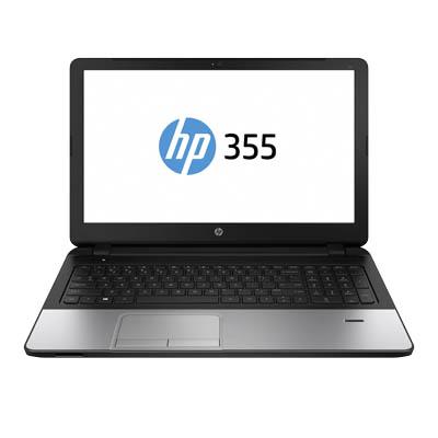 "HP 355 G2 Notebook (15,6"" HD matt, AMD A8-6410, 4GB RAM, 500GB HDD, Gb LAN, Wartungsklappe, Win 7 & 10 Pro 64bit) für Gewerbetreibene, abzgl. 5% Shoop [PRINTUS]"