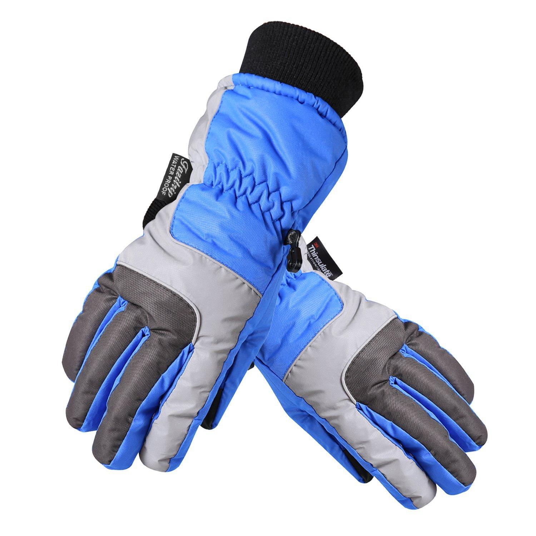 Herren Winter Handschuhe 3M Winddicht und Wasserdicht Gr. M und L für 16,59