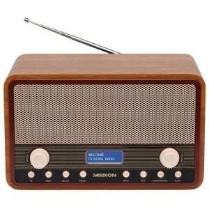 MEDION LIFE E66312 (MD 84950) braun / schwarz Radio, DAB+ für 50 EUR inkl. Versand