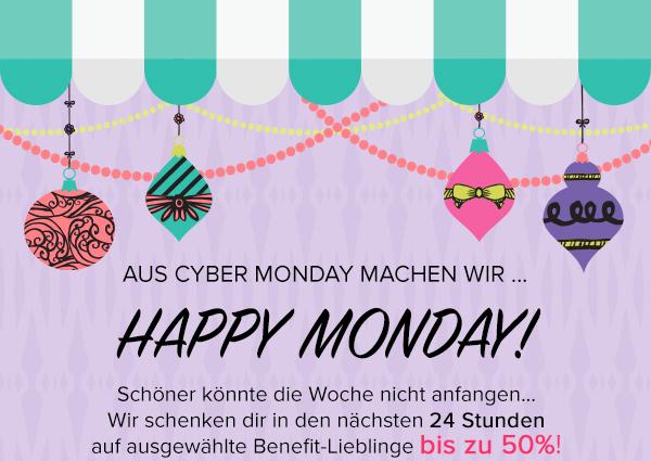 Benefit Cosmetics: bis zu 50% am Cyber Monday