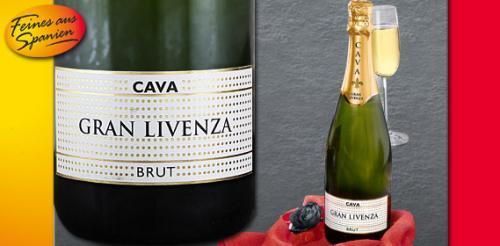 aldi süd: GRAN LIVENZA Cava Brut 3,99€