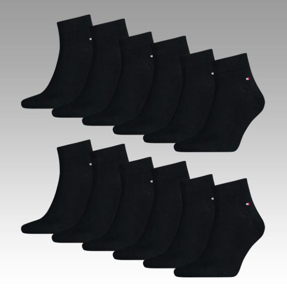 Bis 24 Uhr: 20% Rabatt auf 12 Socken bei Allstar, z.B. 12 Quarter Socken von Tommy Hilfiger für 33,56€ statt 47€