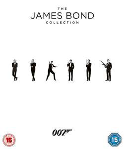Zavvi James Bond Blu Ray Collection