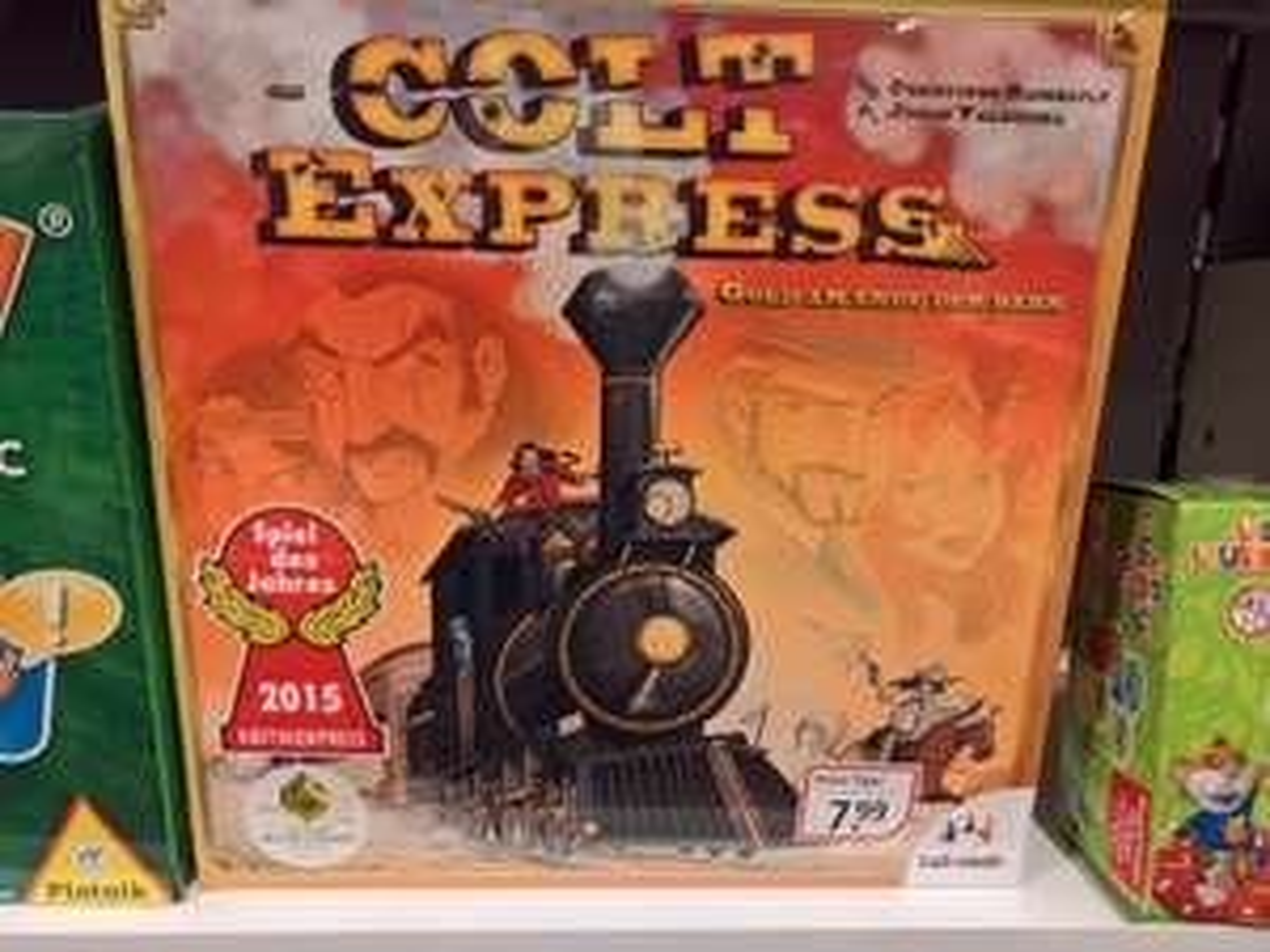 Weltbild (lokal: Singen) - Colt Express (Spiel des Jahres 2015) für 7,99€
