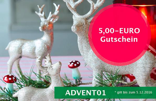 5€-Adventsrabatt - auch auf Sale - ab MBW 50€ bei Emil & Paula