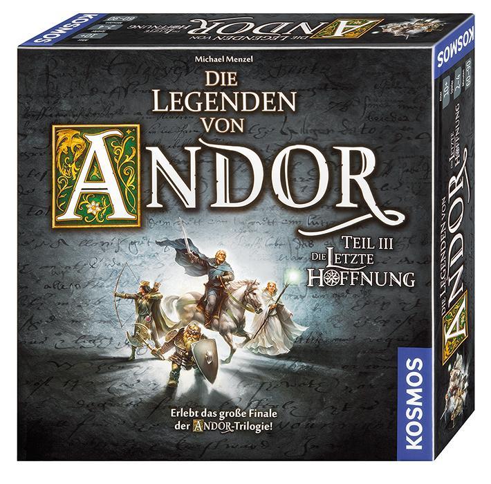 Kennerspiel des Jahres 2013 - Die Legenden von Andor KOMBIDEAL 30% möglich + 2€ EXTRARABATT