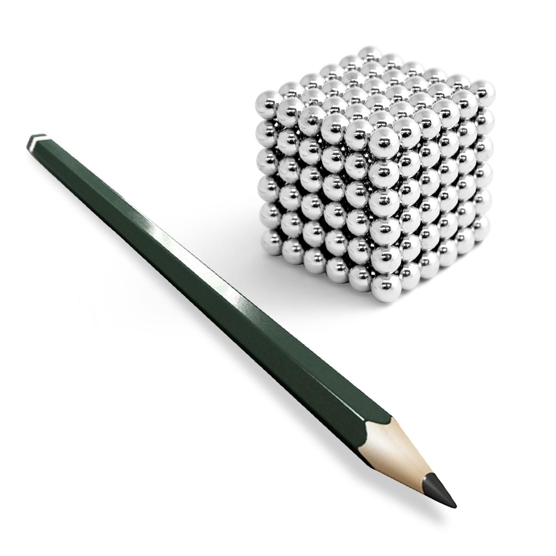 KILLERCUBE 216 Neodym Magnet Kugeln ab 16,90€ Nickel