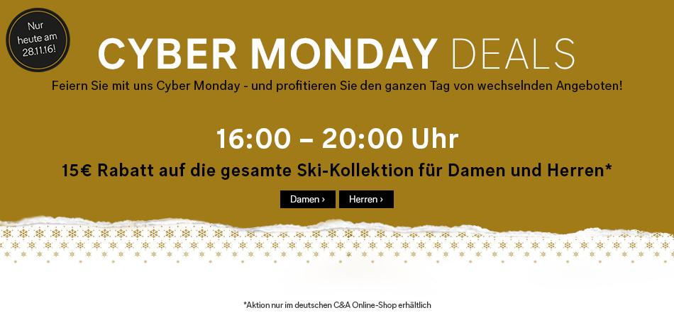 [C&A] CundA (bis zu) 15€ Rabatt +5fach Payback +10% Newsletter Cyber Monday