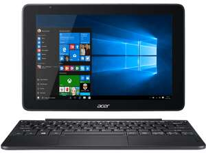 [Saturn Late Night Special] ACER One 10 (S1003-1298), Notebook mit 10.1 Zoll, 32 GB Speicher, 2 GB RAM, Atom x5 Prozessor, Windows® 10 Home (32 Bit), Schwarz inc.Office 365 ab 129,60€ mit Masterpass
