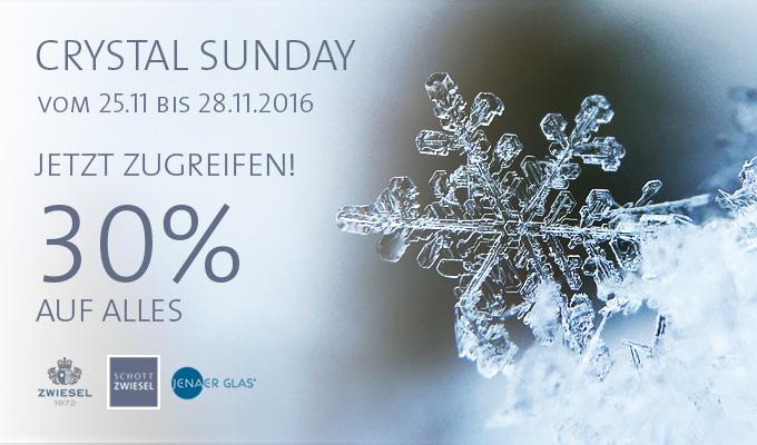 30% auf alles im Zwiesel Kristallglas Shop + VSK-frei (+5€ Newslettergutschein ab 25€)
