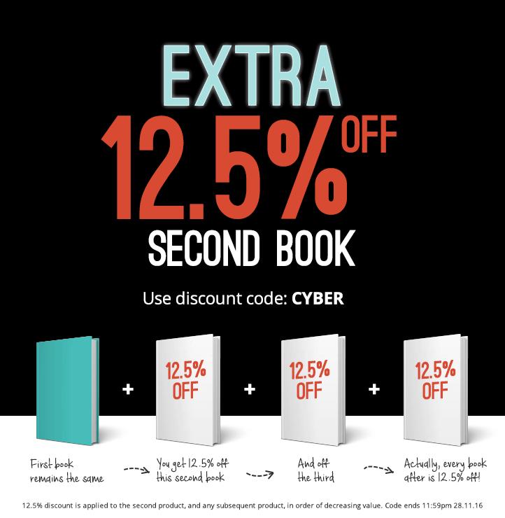Wordery - 12,5% auf das zweite, dritte, vierte... Buch