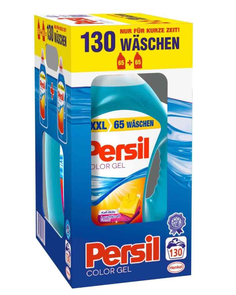Persil Color Gel 130 Waschladungen bei Real für 18,99 € PVG 24,99 €