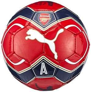2016-2017 Arsenal Puma Fan Football (Red) - Mini