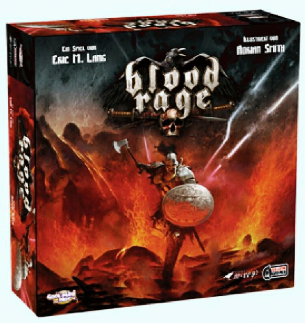 Thalia/ Buch.de: Bestpreis! BLOOD RAGE, Brettspiel, dt. Version - Asmodee