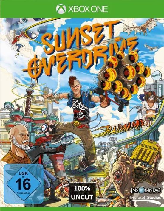 Sunset Overdrive gratis zu jedem Xbox One Spiel, z.B. mit Skyrim Remastered 39,99€ @ Gamestop Online