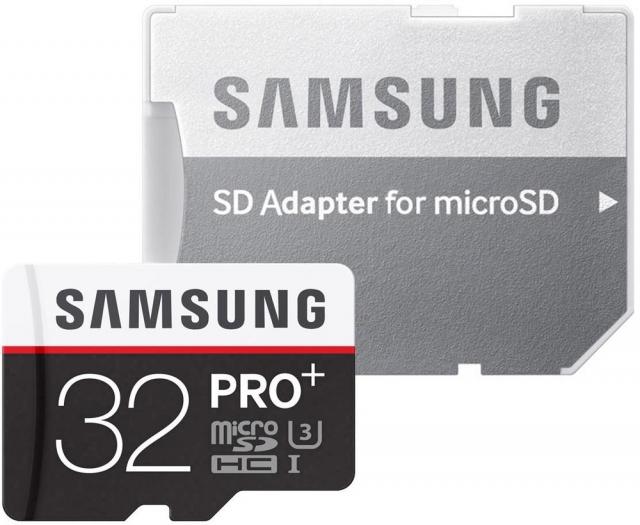 [voelkner.de] Samsung MicroSD pro plus 32 GB für 17,99 €  nur noch heute