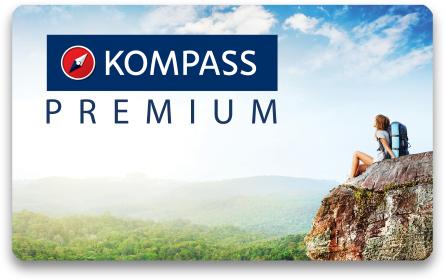 KOMPASS Premiummitgliedschaft über 50% reduziert